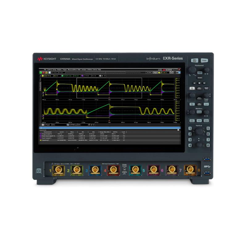 是德科技 EXR258A Infiniium EXR-Series Oscilloscope