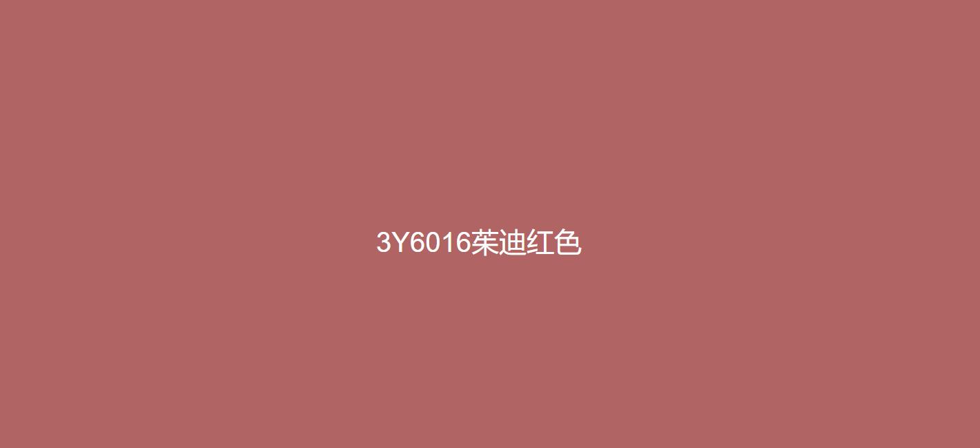 3Y6016茱迪红色