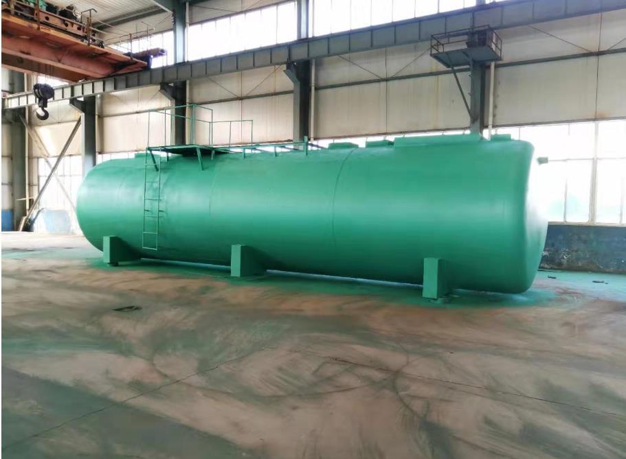 地埋式一体化污水处理设备装置过程