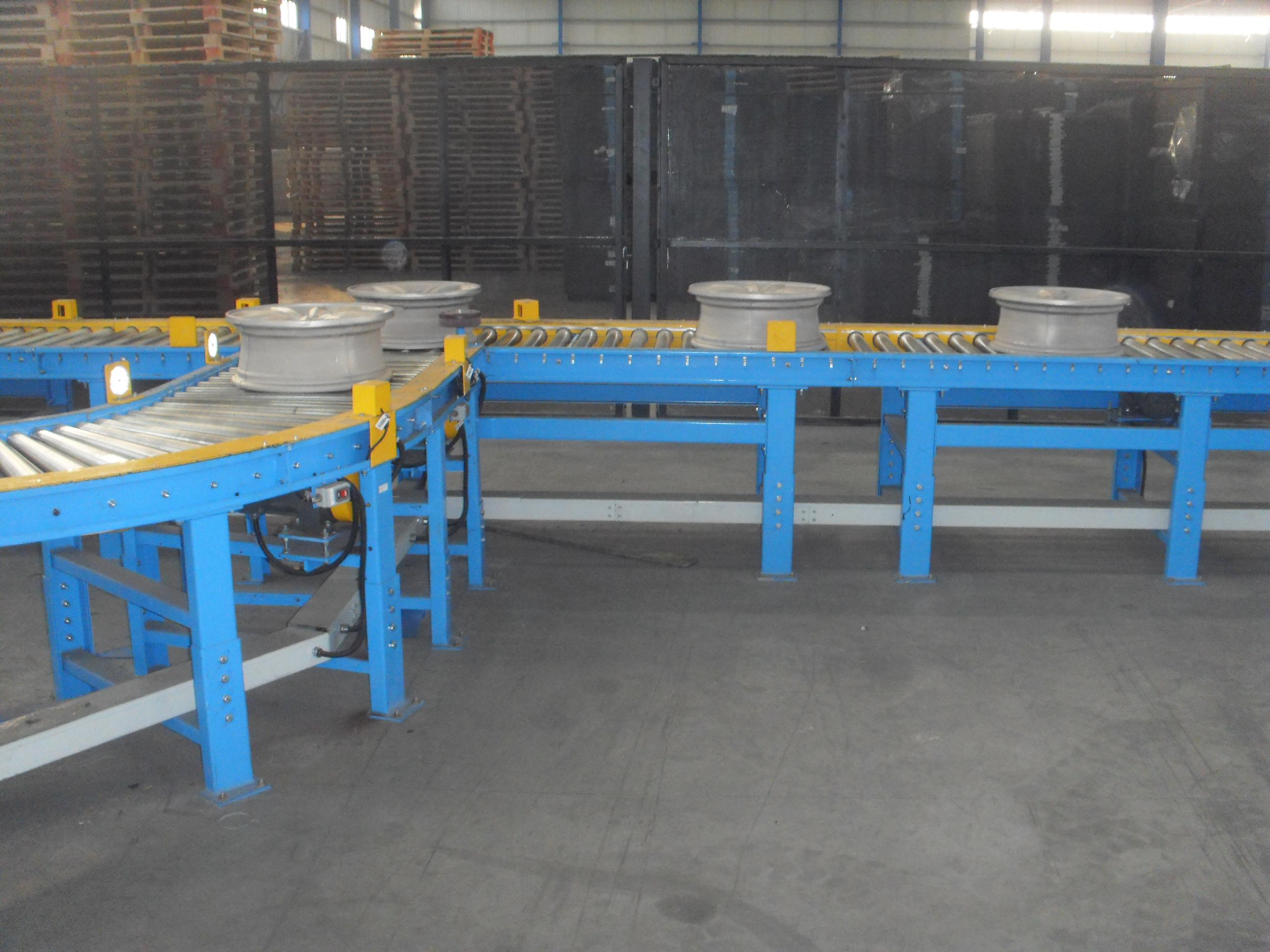 轮毂生产线