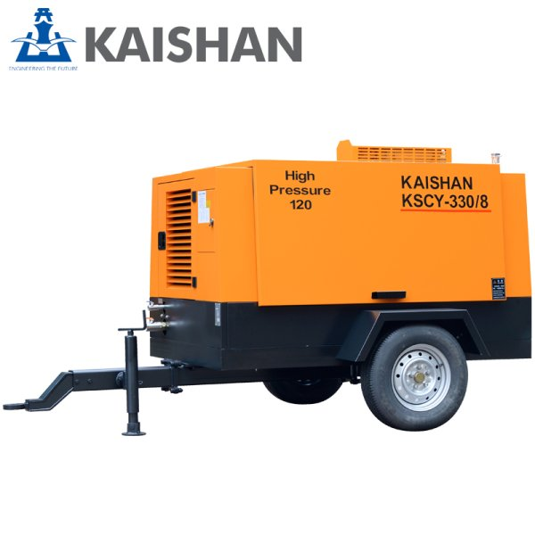 KSCY柴油移动空压机