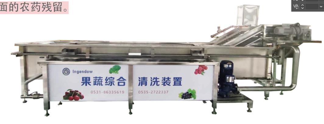 果蔬综合清洗机