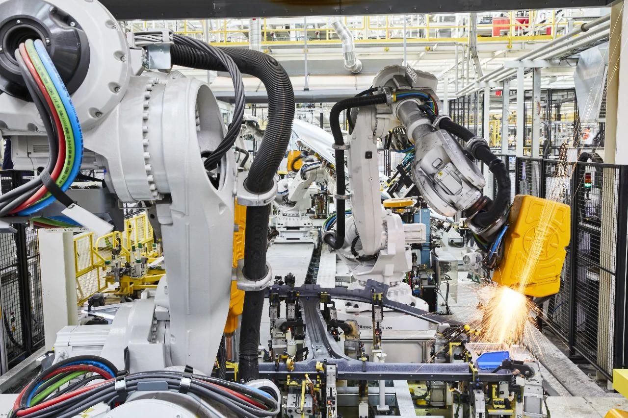 机器人点焊框架