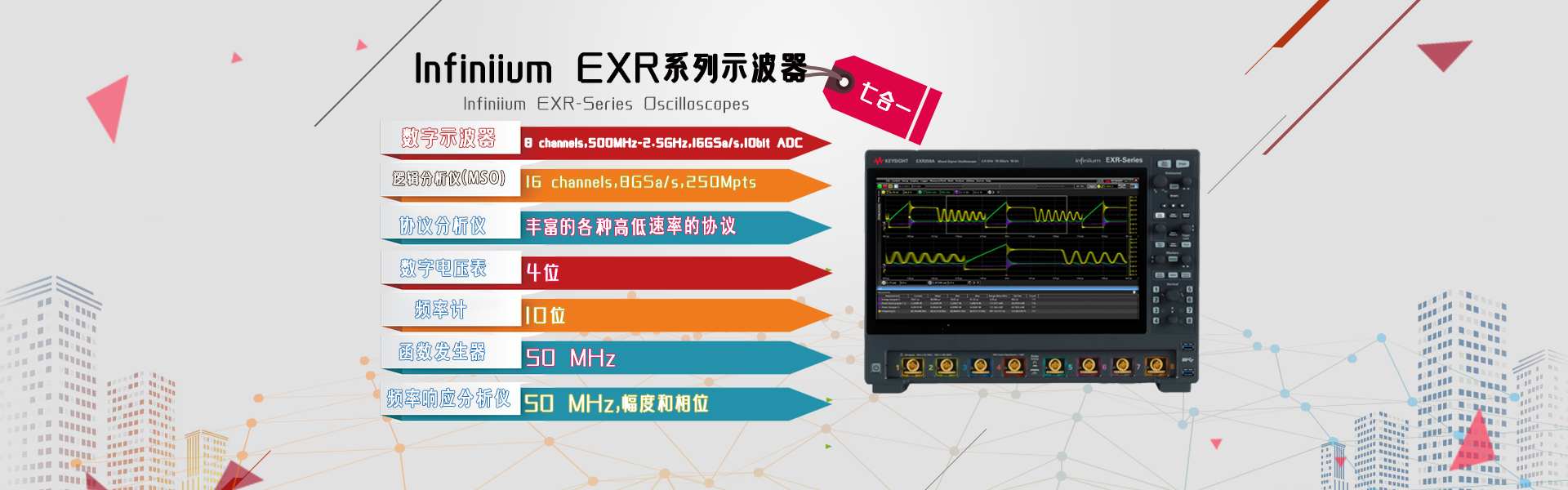 EXR系列示波器