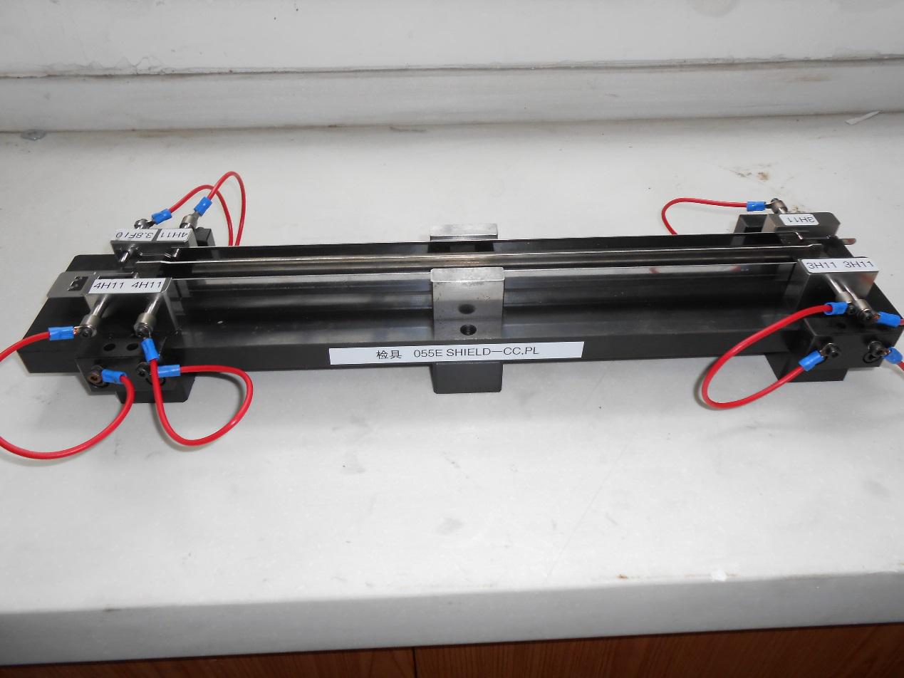 复印机防护罩支架检测夹具