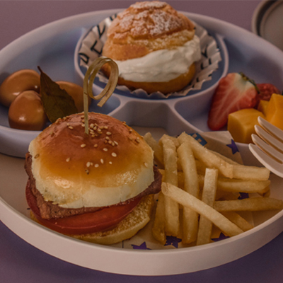 miniware天然宝贝辅食碗-mini小汉堡