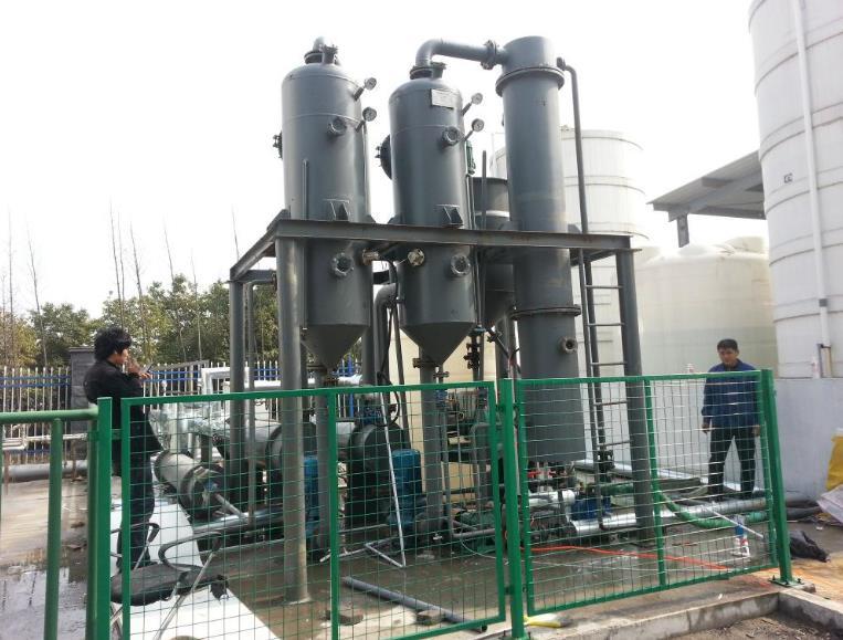 绿禾盛分享:强制循环蒸发器有哪些特点?