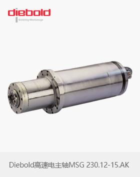 德国Diebold高速电主轴MSG 230.12-15.AK