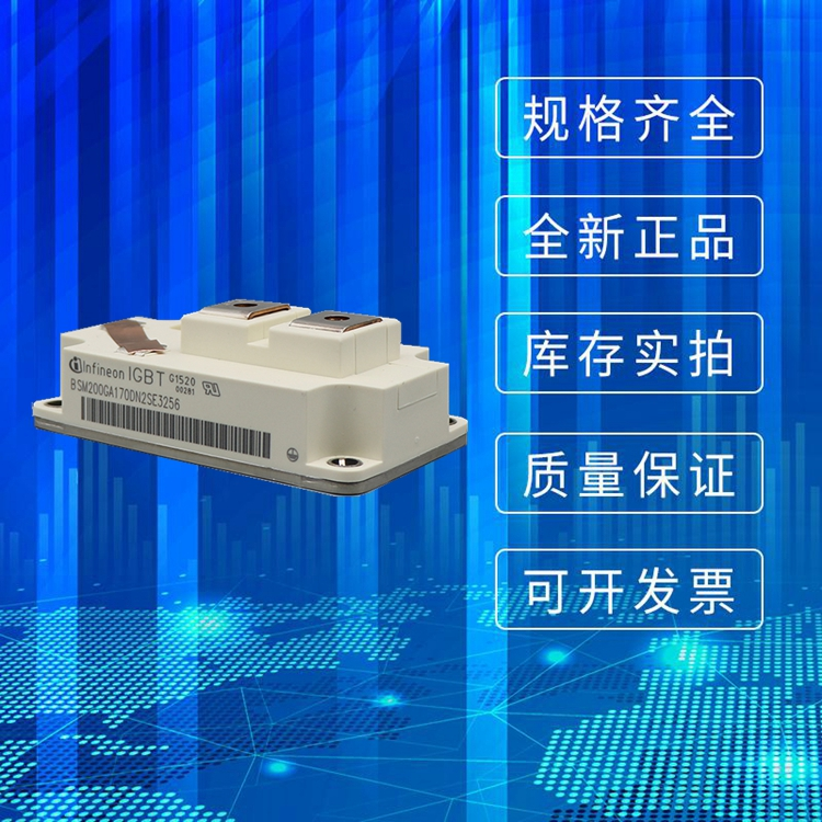 供应全新英飞凌IGBT模块BSM200GA170DN2SE-3256 可控硅功率模块 原装现货直销
