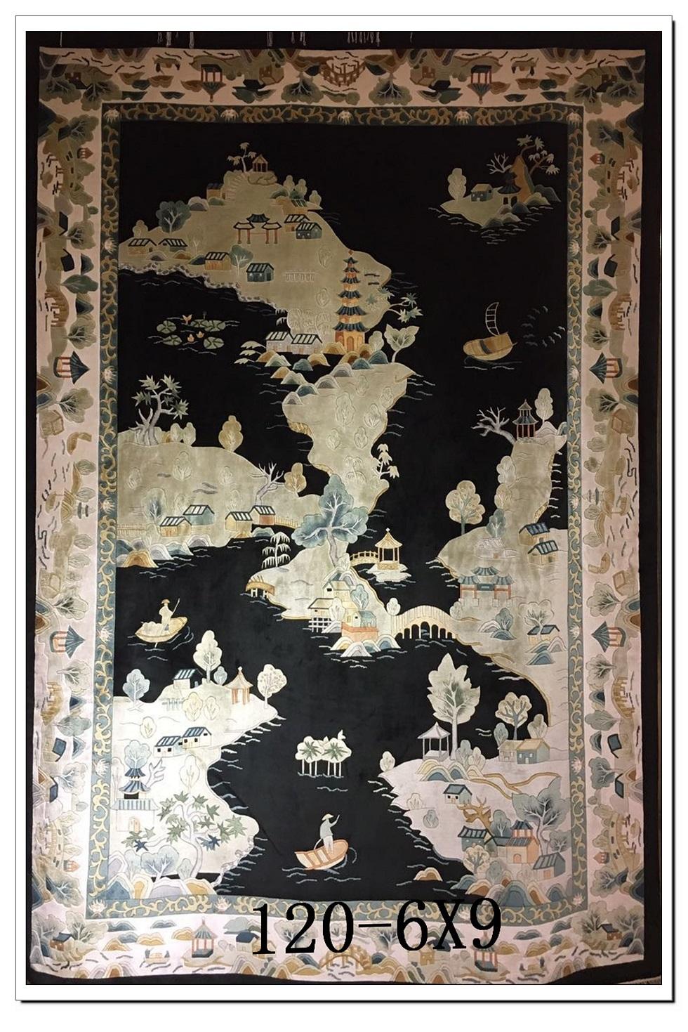 真丝地毯120道x12001