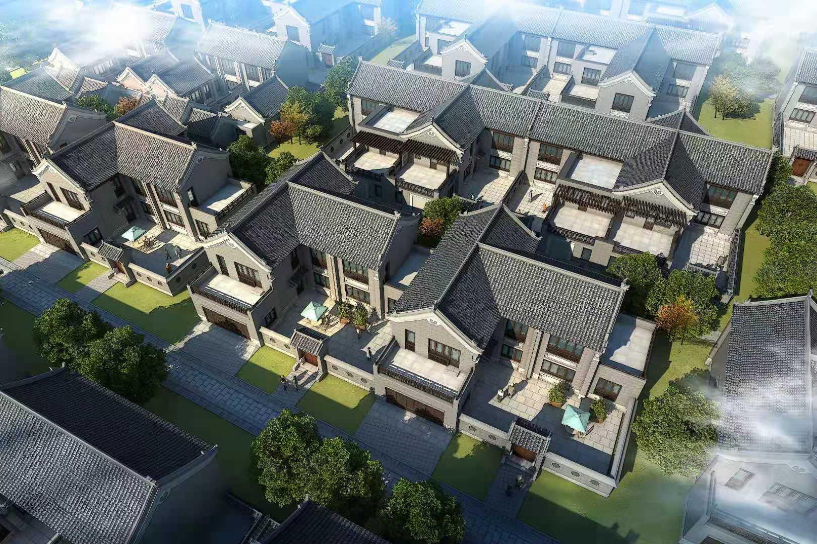 中式合院(一)