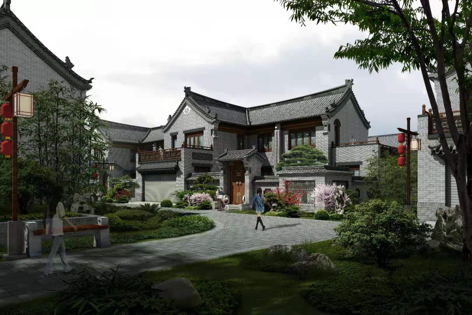 中式合院(三)