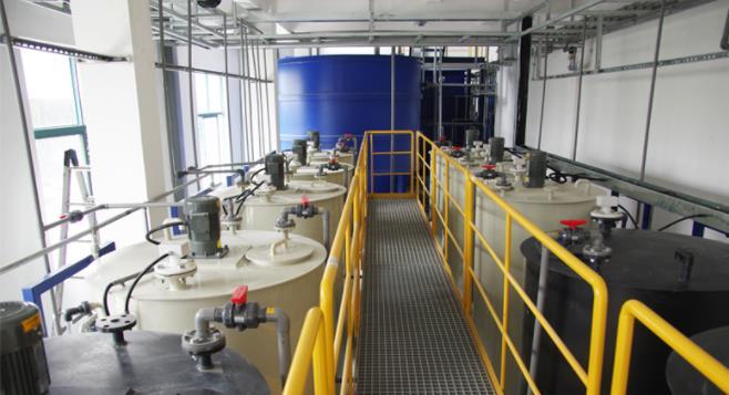 无锡瑞达电子危废处置废水处理工程