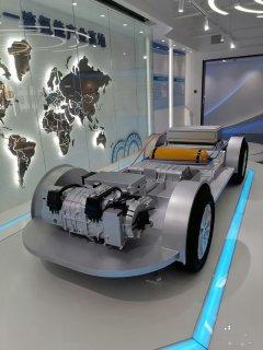 氢能汽车模型