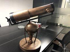 牛顿望远镜模型