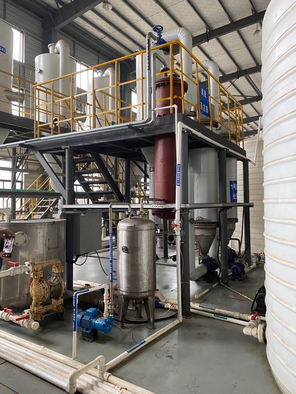 绿禾盛分享:三效蒸发器故障处理办法