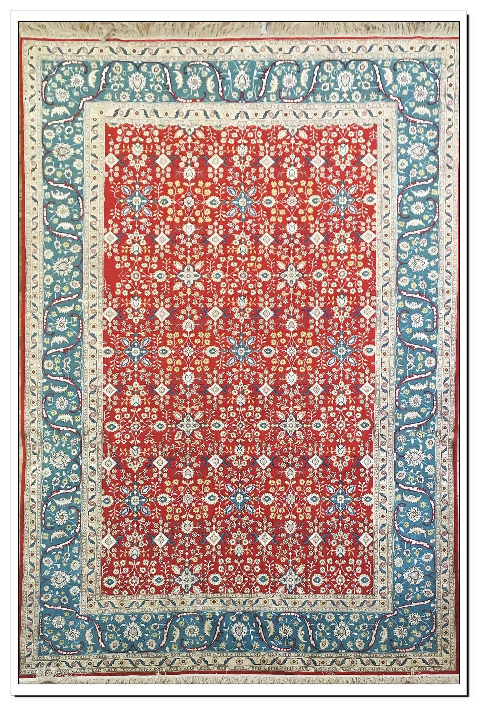 真丝地毯300道x30010