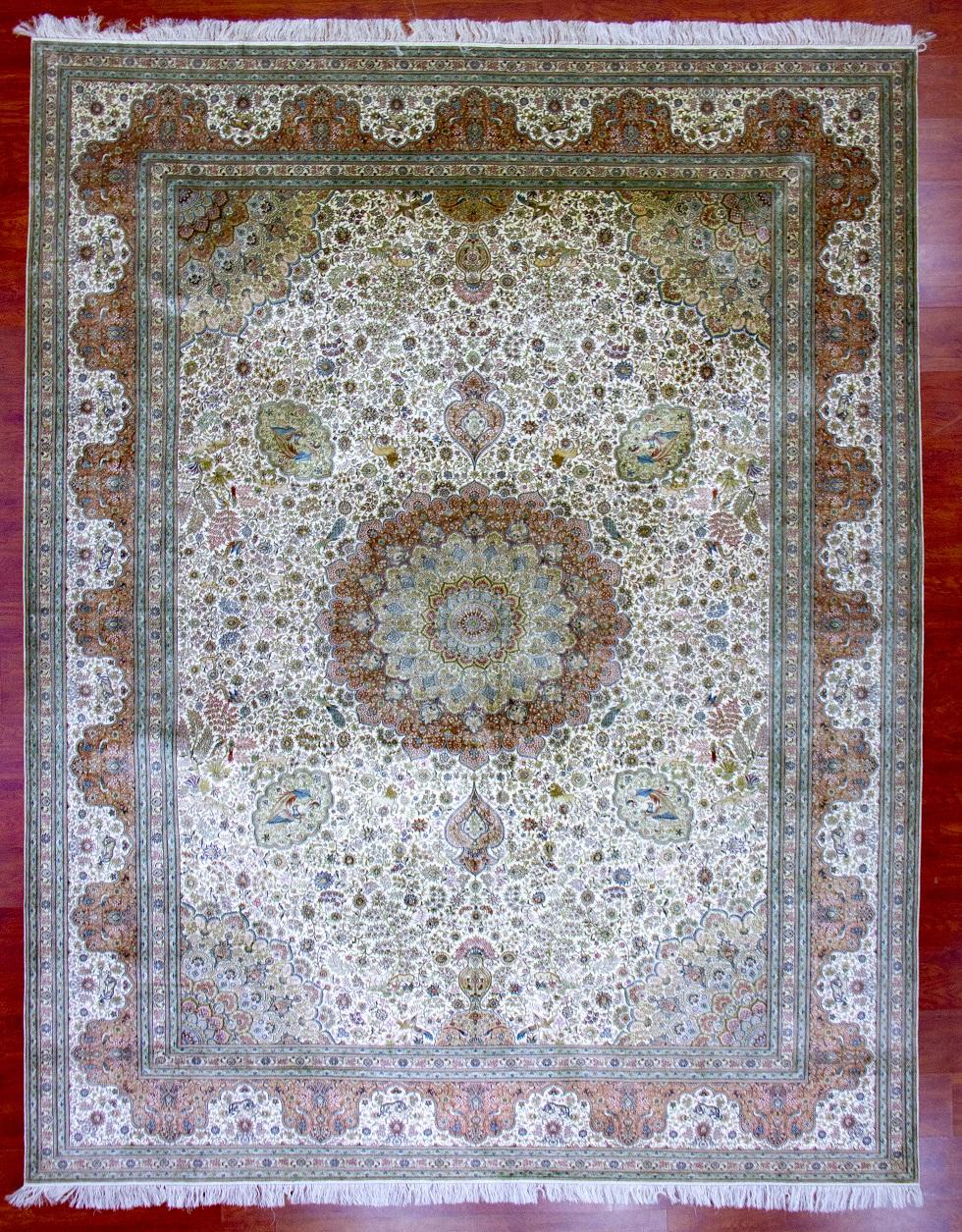真丝地毯600道x60003