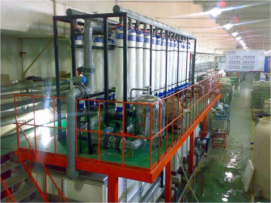 绿禾盛分享:中水回用设备加工工艺类型