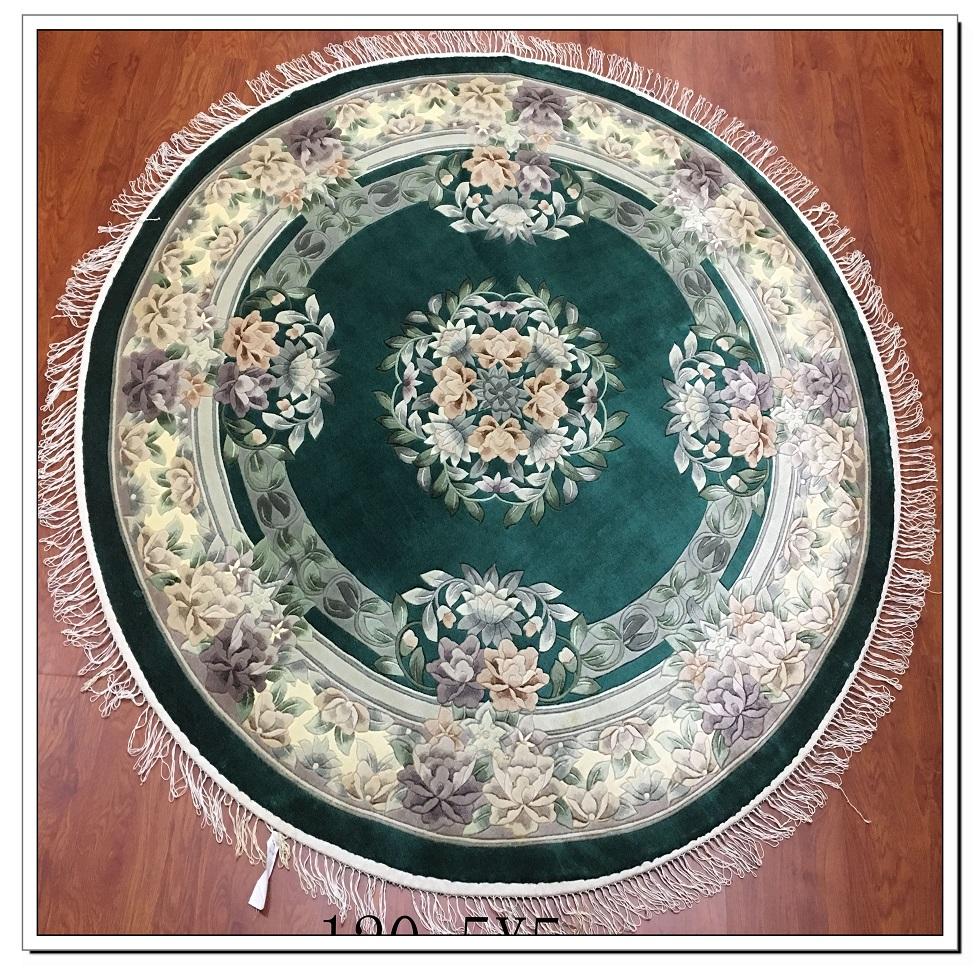真丝圆毯120道x12007