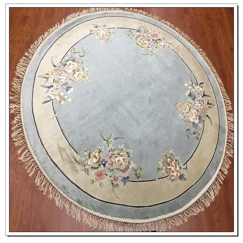 真丝圆毯120道x12003