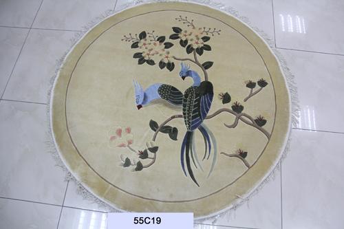 真丝圆毯120道x12011