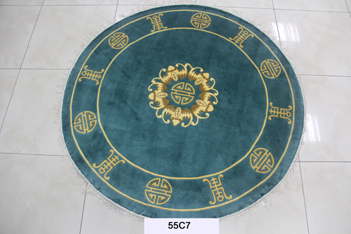 真丝圆毯120道x12009
