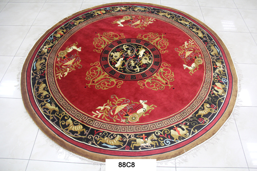 真丝圆毯120道x12013
