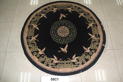 真丝圆毯120道x12008