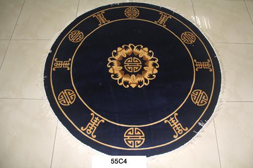 真丝圆毯120道x12017