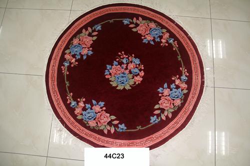 真丝圆毯120道x12018