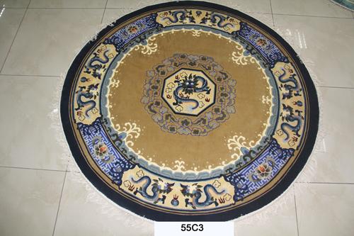 真丝圆毯120道x12016