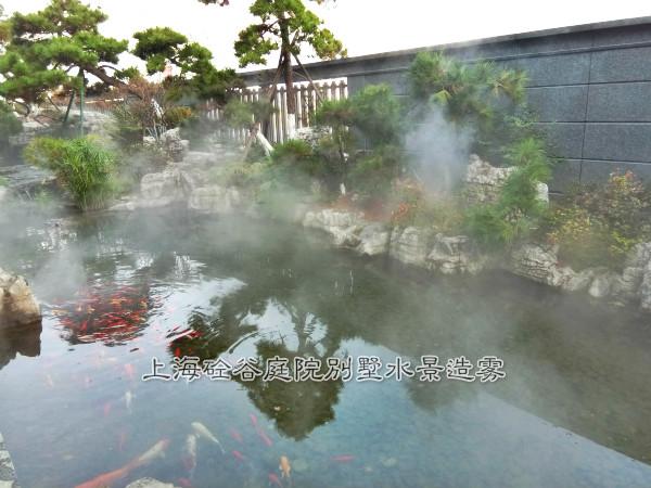 庭院别墅水景造雾