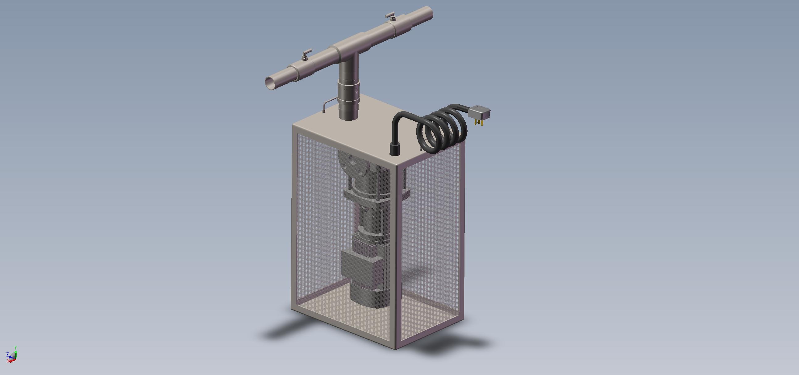 潜水型微纳米气泡曝气机-双头双向