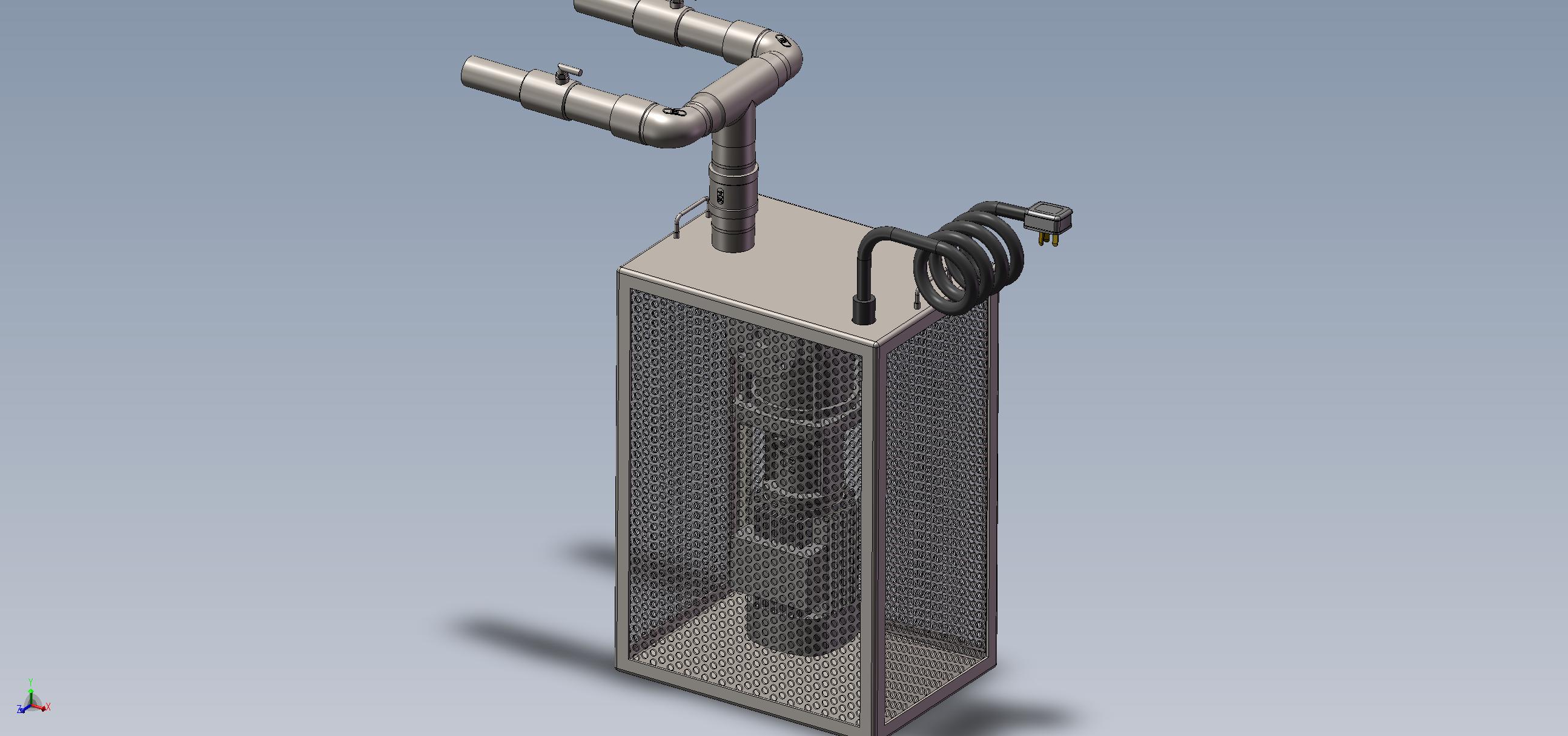 潜水型微纳米气泡曝气机-双头单向