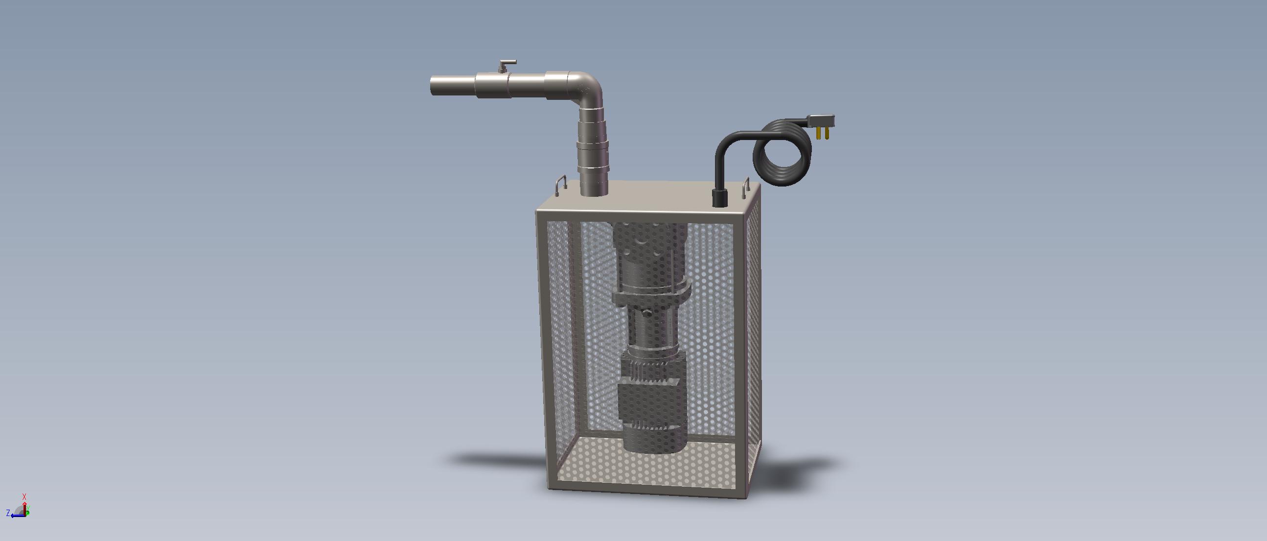 潜水型微纳米气泡曝气机-单头单向
