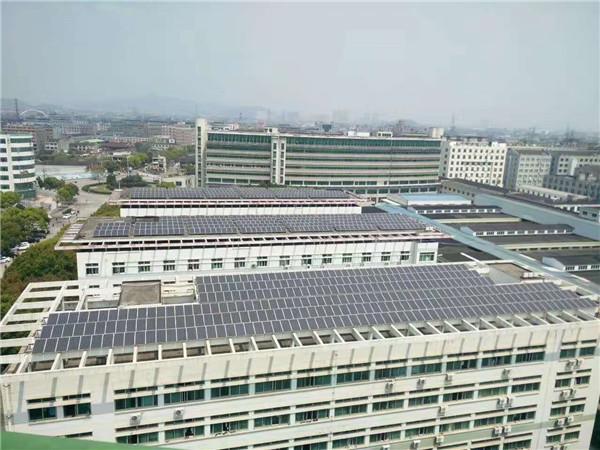 台州鞋厂屋顶370KW发电