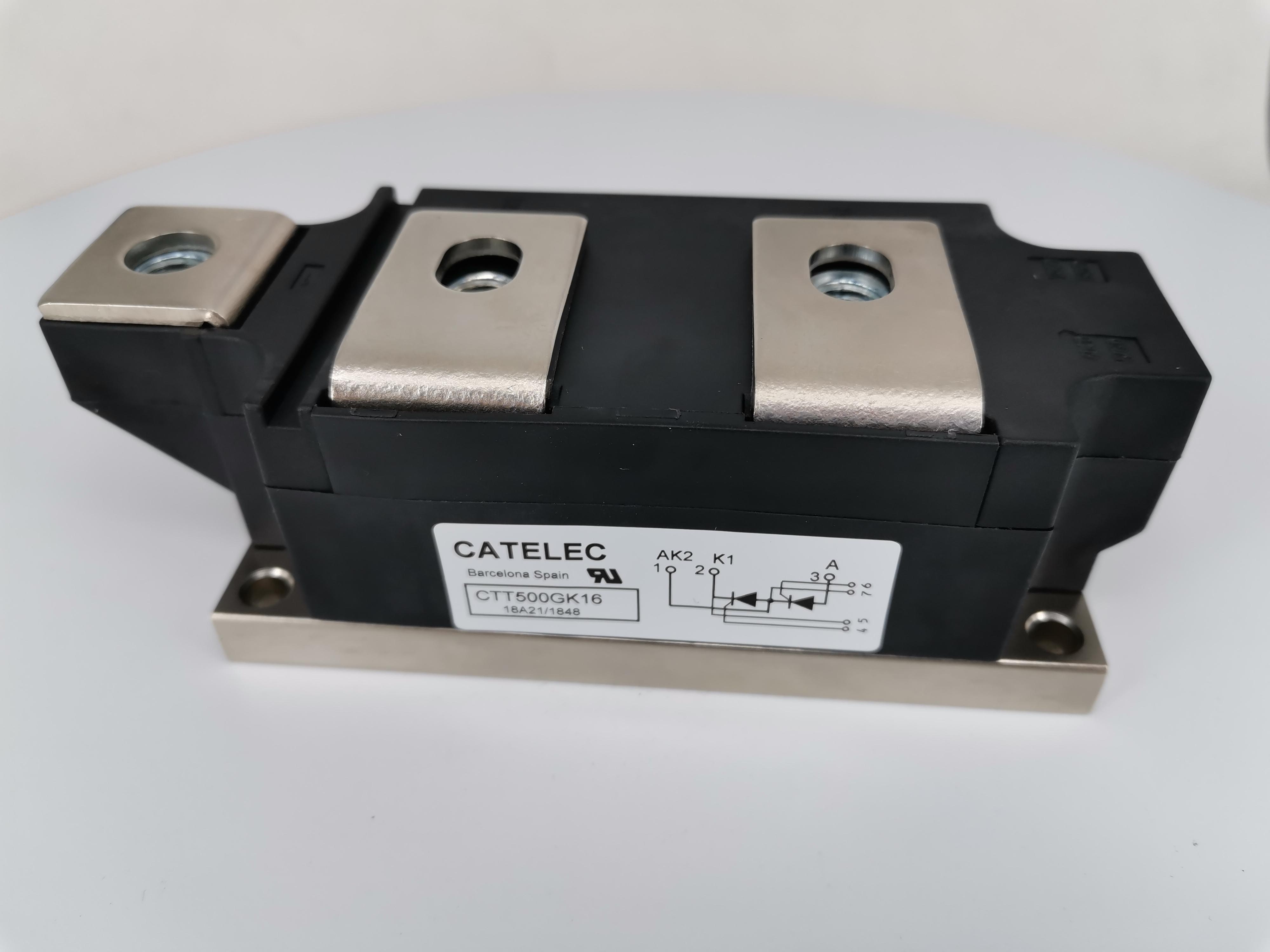 供应全新西班牙CATELEC可控硅模块 CTT500GK16BT  晶闸管二极管  欢迎订购