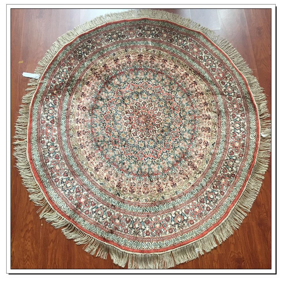 真丝圆毯300道x30003