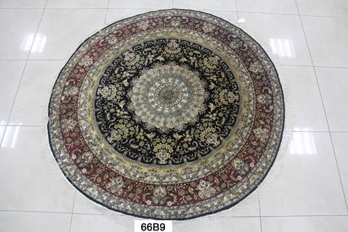 真丝圆毯300道x30005