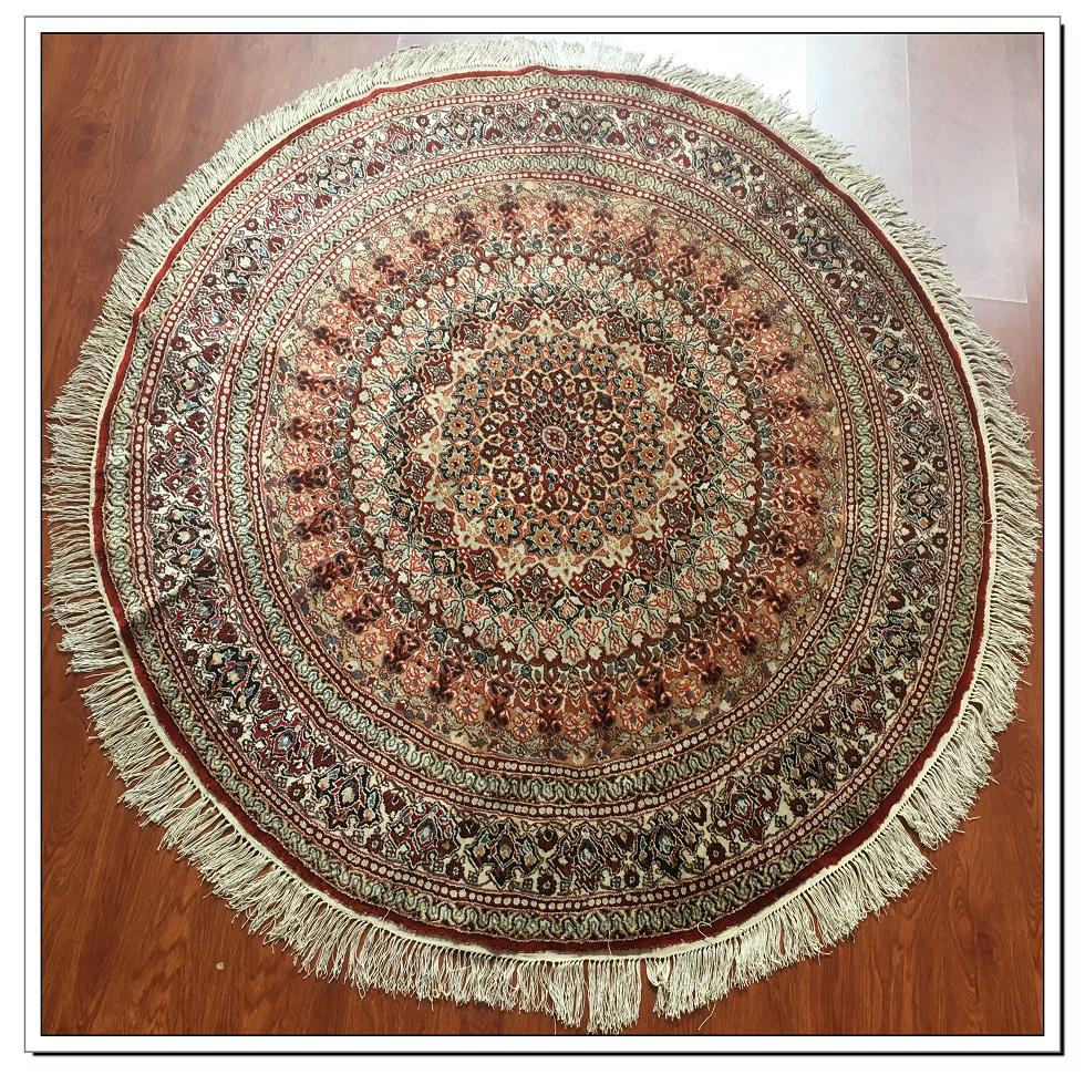 真丝圆毯300道x30011