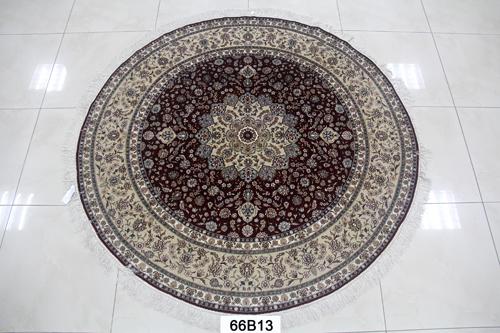 真丝圆毯300道x30008