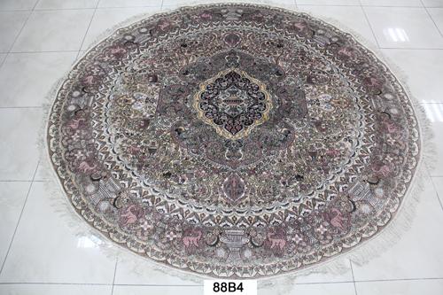 真丝圆毯300道x30012