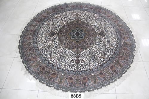 真丝圆毯300道x30014