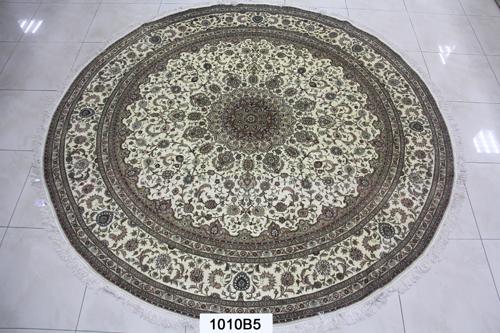 真丝圆毯300道x30017