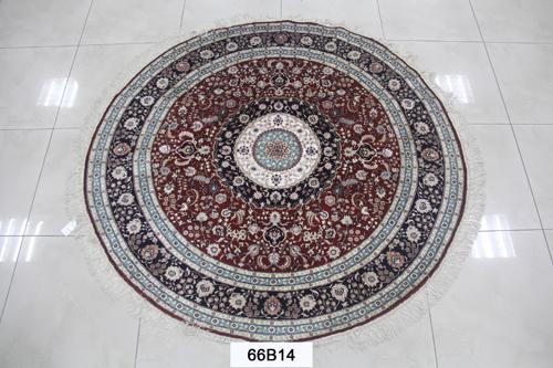 真丝圆毯300道x30018