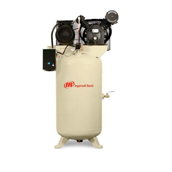 2.2-7.5kW两级压缩12barg立式储气罐空气压缩机
