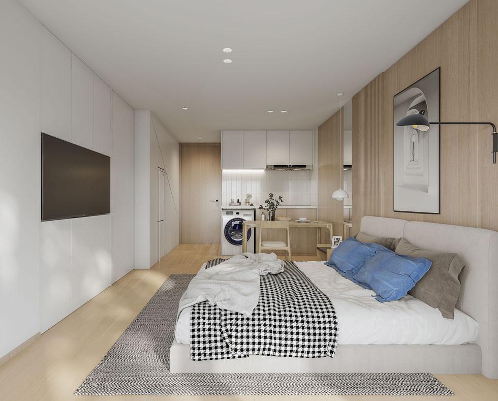 新作   LOFT青年公寓A户型