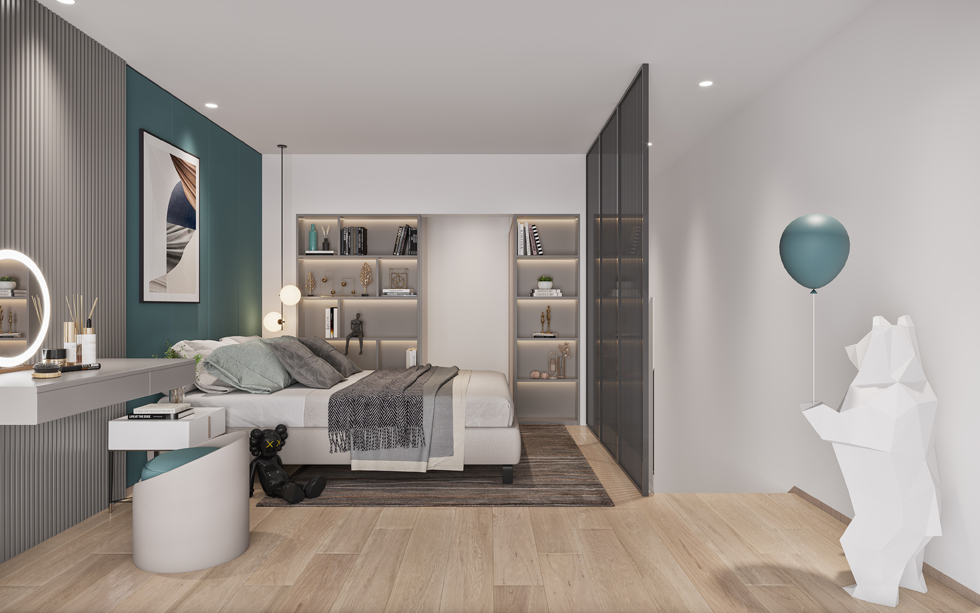 新作   LOFT青年公寓B户型