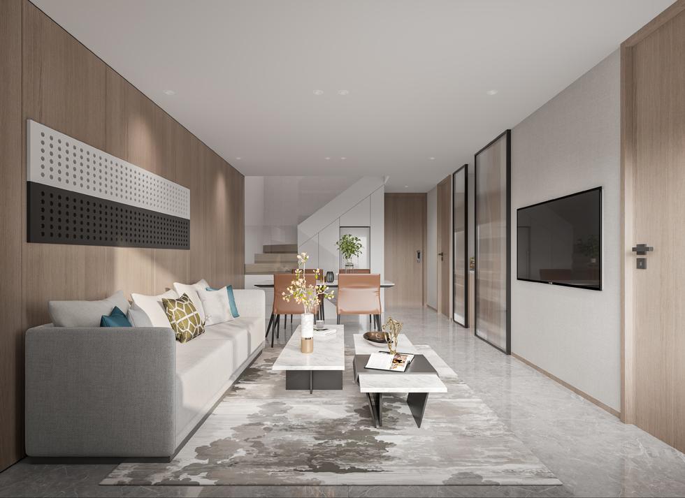 新作   LOFT青年公寓E户型